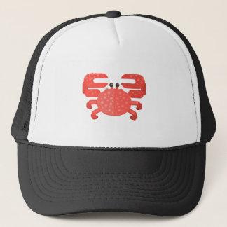 Casquette Style rose de primitif de crabe