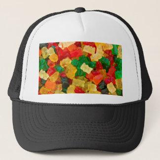 Casquette Sucrerie colorée par arc-en-ciel gommeux d'ours