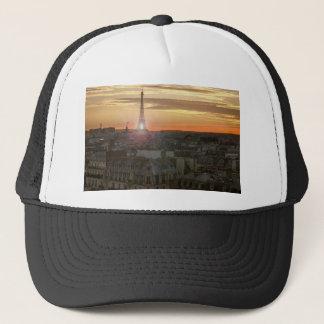 Casquette Sunset on the Eiffel tower, Paris, France