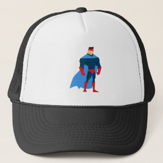 Casquette Super héros dans l'action