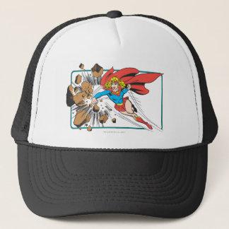 Casquette Supergirl détruit Boulder