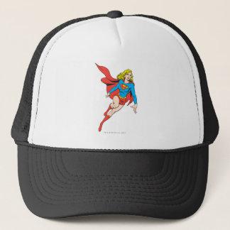 Casquette Supergirl sur le mouvement