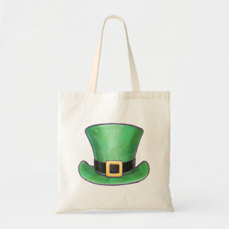 Casquette supérieur de vert du jour de St Patrick Tote Bag