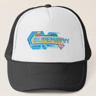 Casquette Superman a stylisé le logo électronique de  