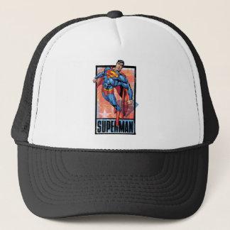 Casquette Superman avec la frontière foncée