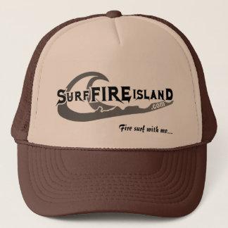 Casquette Surf-Feu-Île, surf du feu avec moi…