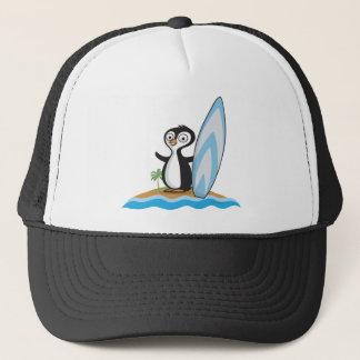 Casquette Surfer de pingouin