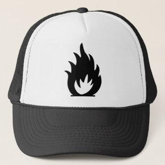 Casquette Symbole d'alarme d'incendie