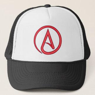 Casquette Symbole d'athée de lettre d'écarlate