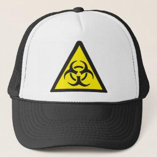 Casquette Symbole d'avertissement de Biohazard