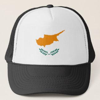 Casquette Symbole de drapeau de pays de la Chypre longtemps