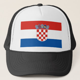 Casquette Symbole de drapeau de pays de la Croatie longtemps