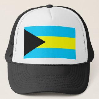 Casquette Symbole de drapeau de pays des Bahamas longtemps