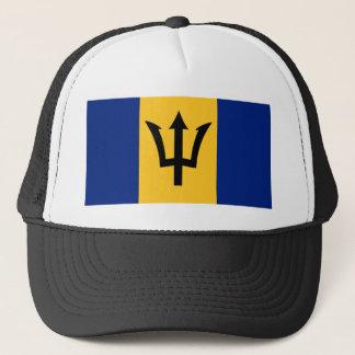 Casquette Symbole de drapeau de pays des Barbade longtemps