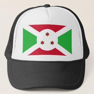Casquette Symbole de drapeau de pays du Burundi longtemps