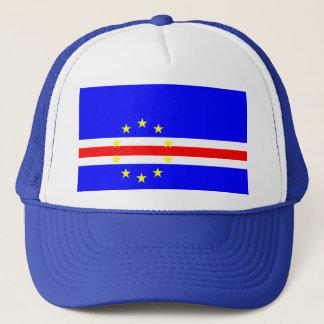Casquette Symbole de drapeau de pays du Cap Vert longtemps
