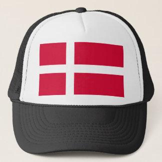 Casquette Symbole de drapeau de pays du Danemark longtemps