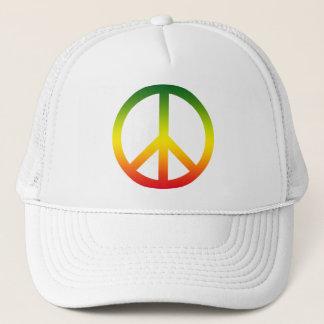 Casquette Symbole de paix Rasta