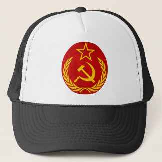 Casquette symbole de Russe de communisme