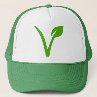 Casquette symbole végétarien, végétariens, végétariens,