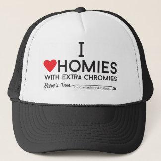 Casquette Syndrome de Down : J'aime des homies avec le