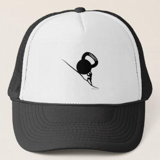 Casquette T-shirt de ténacité de Sisyphus Kettlebell