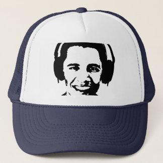 Casquette T-shirt d'écouteurs de Barack Obama