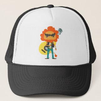 Casquette T-shirt drôle de lion de Rockstar