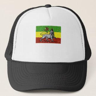 Casquette T-shirt jamaïcain de reggae de lion de Rastafarian