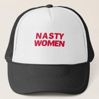 Casquette T-shirt méchant de femme