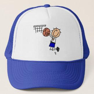 Casquette T-shirts et cadeaux bleus de tir en suspension de