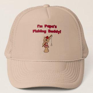 Casquette T-shirts et cadeaux d'ami de la pêche du papa