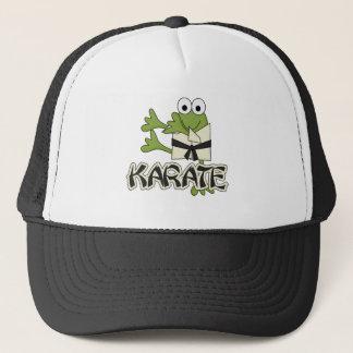 Casquette T-shirts et cadeaux de karaté de grenouille