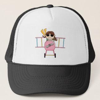 Casquette T-shirts et cadeaux pilotes de fille
