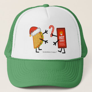 Casquette Taco et sauce chaude - Noël