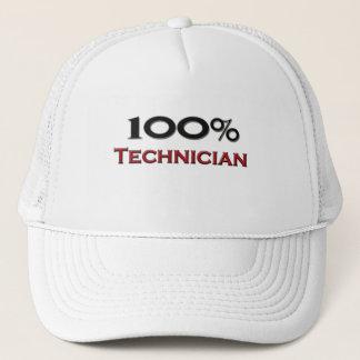 Casquette Technicien de 100 pour cent