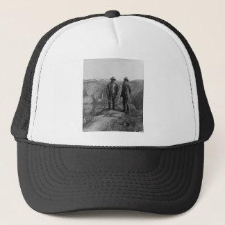 Casquette Teddy Roosevelt et John Muir dans Yosemite