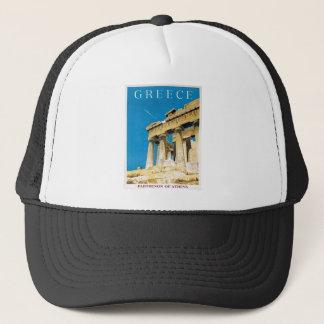 Casquette Temple vintage de parthenon d'Athènes Grèce de