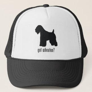 Casquette Terrier blond comme les blés Doux-Enduit