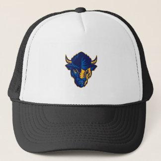 Casquette Tête de bison américain rétro