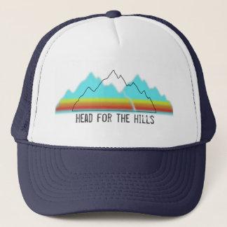 Casquette Tête pour le camionneur de collines