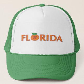 Casquette Texte d'orange de la FLORIDE