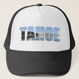 Casquette Texte du lac Tahoe