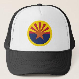 Casquette Thème 00 de drapeau de l'Arizona