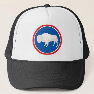 Casquette Thème 00 de drapeau du Wyoming