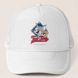 Casquette Tom et Jerry | Tom et Jerry sur le diamant de