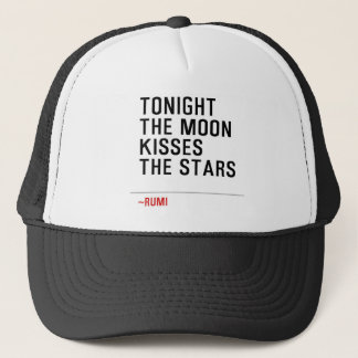CASQUETTE TONIGHT-THE-MOON-KISSES-THE-STARS