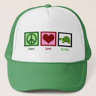 Casquette Tortues d'amour de paix