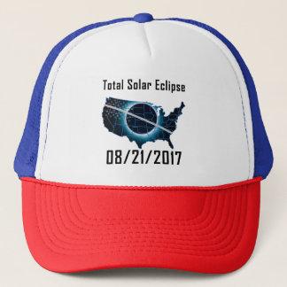 Casquette total de camionneur de l'éclipse 2017