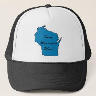 Casquette Tournez le Wisconsin bleu ! Fierté Democratic !